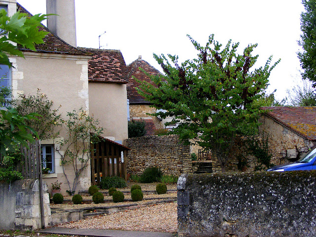 Garden, Concremiers, Indre, France. Photo by Loire Valley Time Travel.