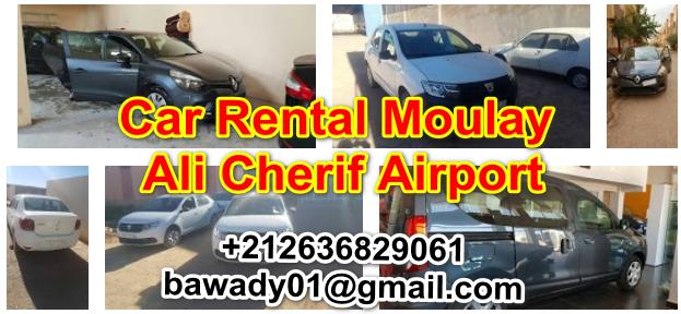Renting cars at Moulay Ali Al Sharif Airport in Errachidia