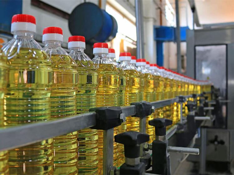 Procedimiento de envasado en el proceso de elaboración de aceite vegetal
