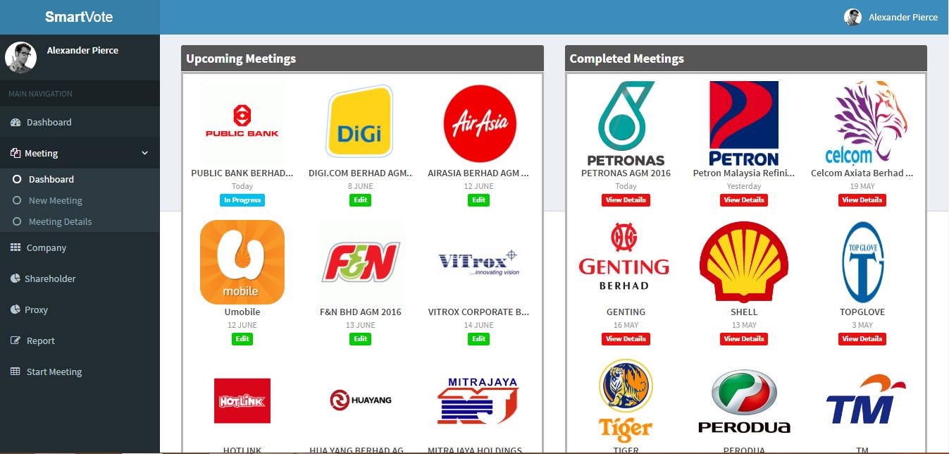 2016 Automatic Voting System For Bursa Malaysia Listed Companies Cloud Based Voting System For Malaysia Listed Companies Agm Meeting Is Ready In The Market