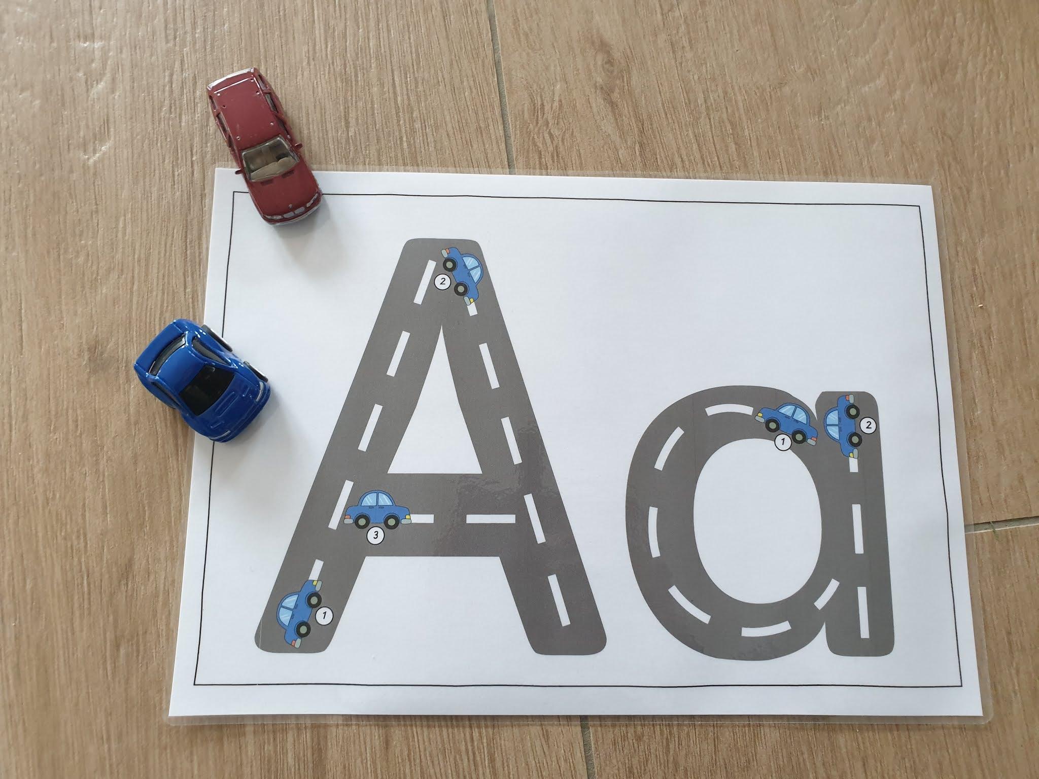 Buchstabenweg