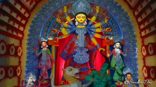 Durga Puja 2018 Sikdar Bagan Durga Idol