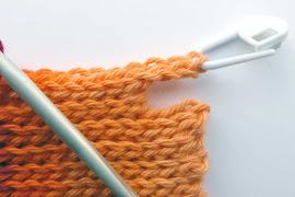 Slip stitch - long rows 2