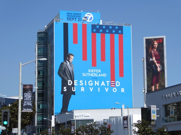 Giant Designated Survivor series premiere billboard