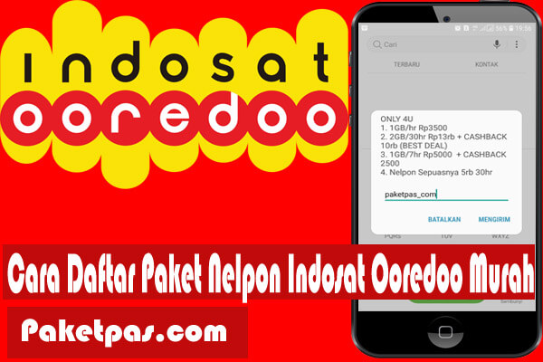 Paket Nelpon Indosat