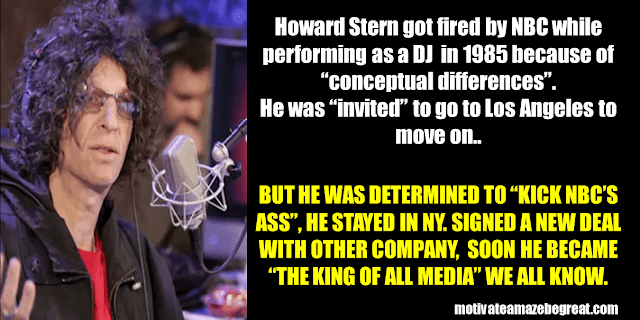 Success Stories From Famous People Who Failed Before Succeeding: Howard Stern