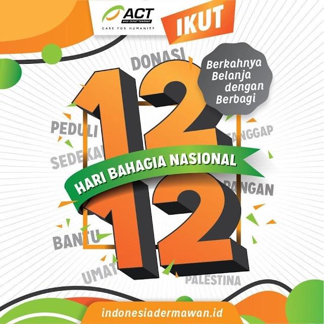 ACT Ajak Berbagi Kebahagiaan untuk Sesama di Momen 12.12