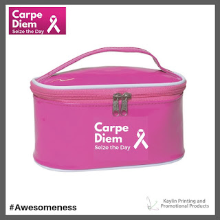 Promotional Pink Cosmetic Bags