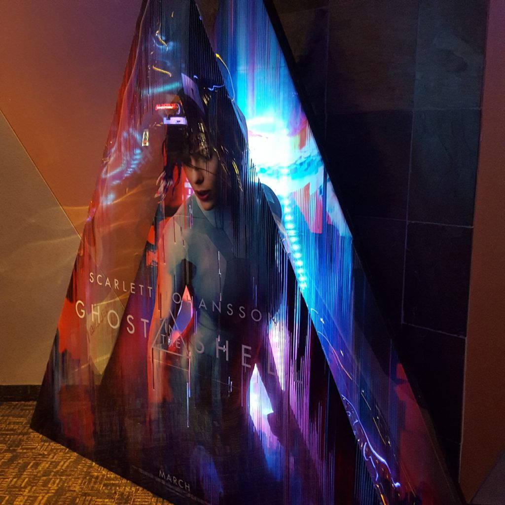 Stand reklamowy filmu Ghost in the Shell - Zdjęcie 3