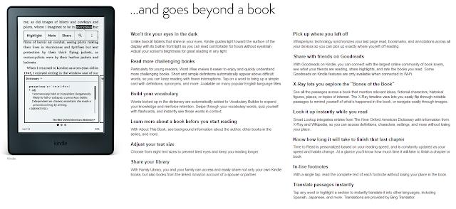 Kindle Paperwhite E-reader 3