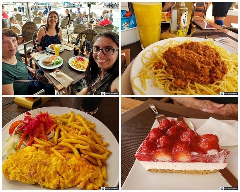 """Restaurante """"Piu"""" da Praia do Carvoeiro no Algarve, Portugal"""