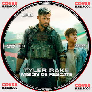 TYLER RAKE MISION DE RESCATE - TYLER RAKE EXTRACTION 2020 [COVER - DVD]