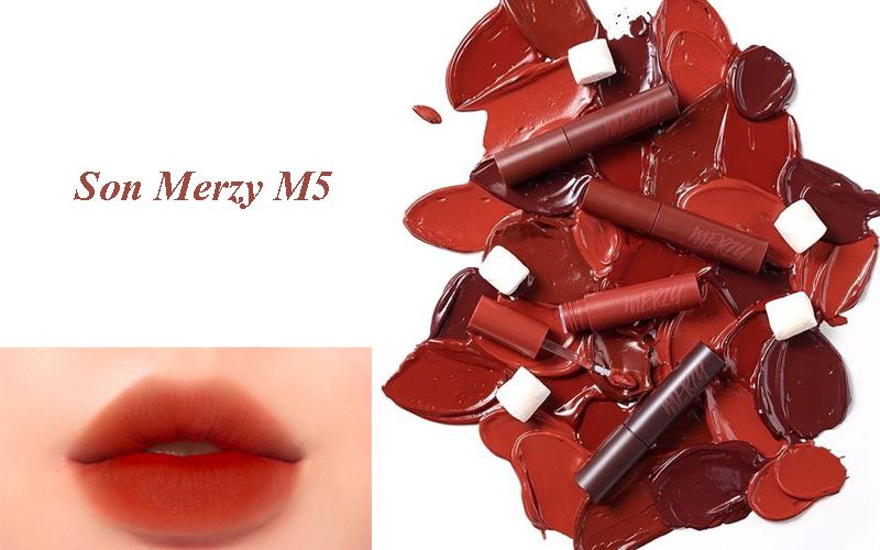 Review son Merzy M5 là màu gì? Khả năng lên màu, giữ màu có tốt không?