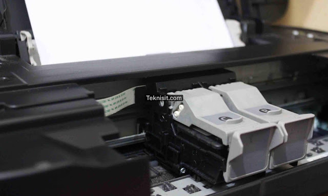 Cara cleaning printer canon