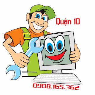 Sửa chữa cài đặt bảo trì máy vi tính laptop tận nhà tại quận 10