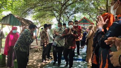 Plt Gubernur Sulsel Resmikan Miniatur Ka'bah di Kawasan Wisata Telaga Biru