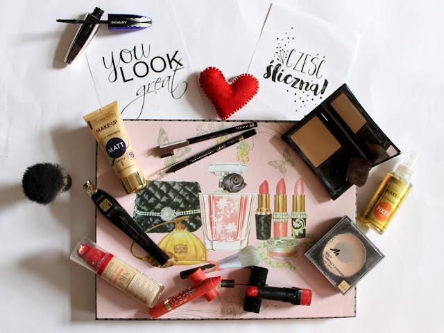 Kosmetyki do makijażu - trzeci wpis z cyklu OPRÓŻNIAMY KOSMETYCZKI