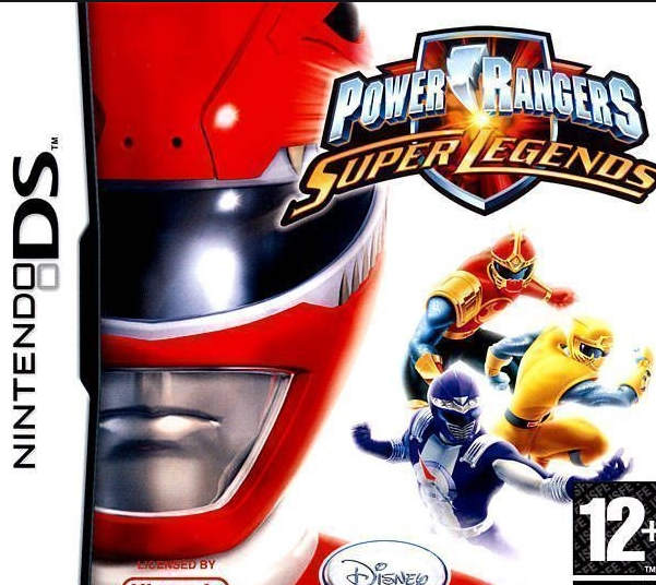 Power Rangers Super Legends NDS
