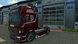 Global Transport skin for Scania RJL