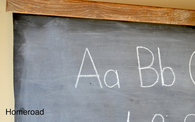 How to Make a Schoolhouse Chalkboard