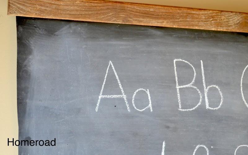 How to Make a Schoolhouse Chalkboard