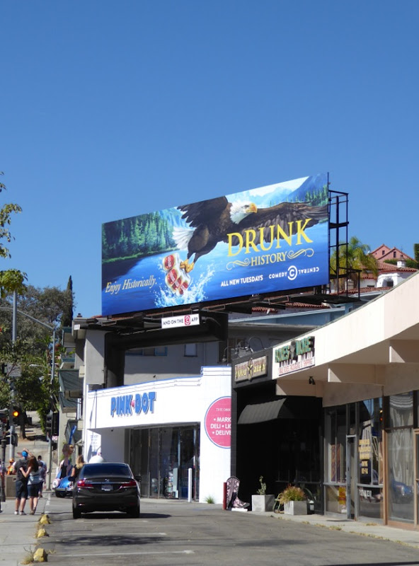 Drunk History season 4 billboard