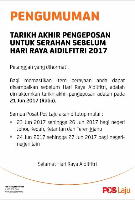 Poslaju Malaysia, Pos Laju