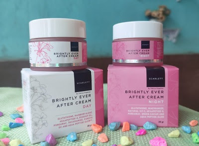 Review Scarlett Brightly Ever After Day and Night Cream