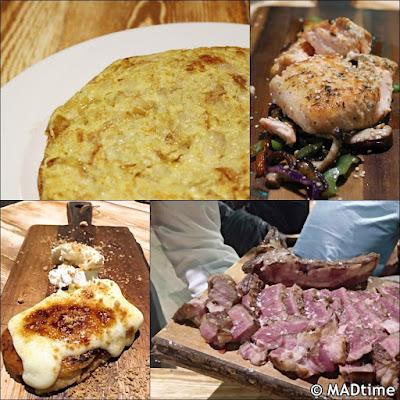 Los platos de El Jefe