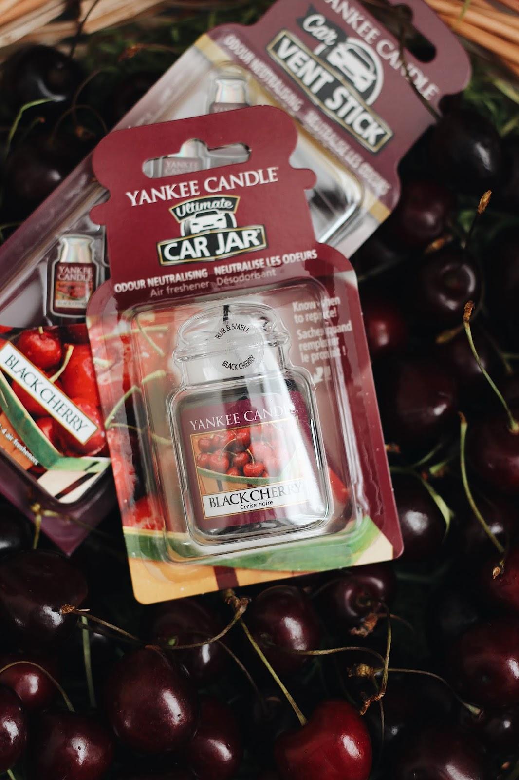"""аромат """"Черная черешня"""" от Yankee Candle/www.gronskaya.com"""