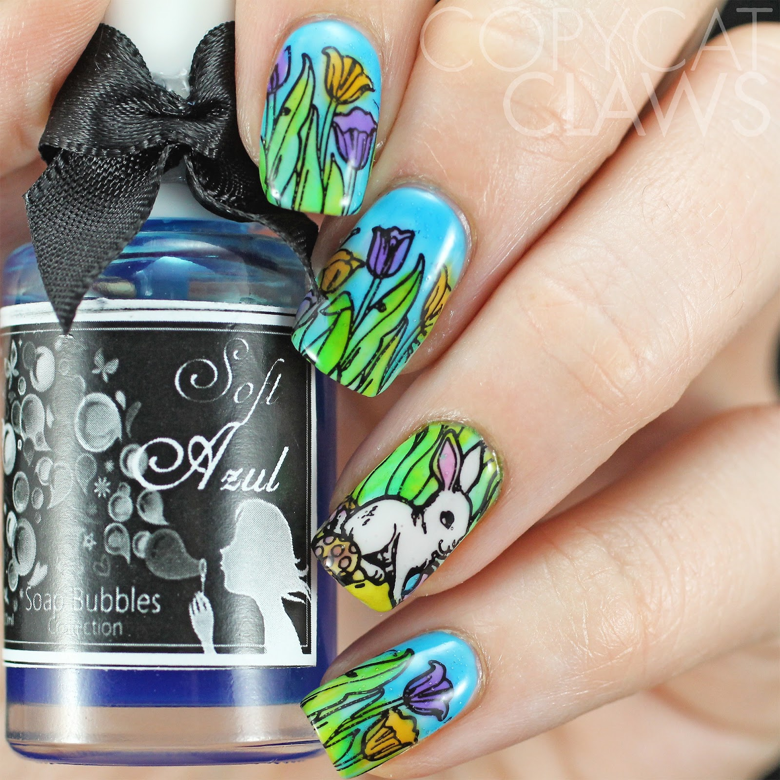 Copycat Claws: HPB and 40 Great Nail Art Ideas Present Spring Nails