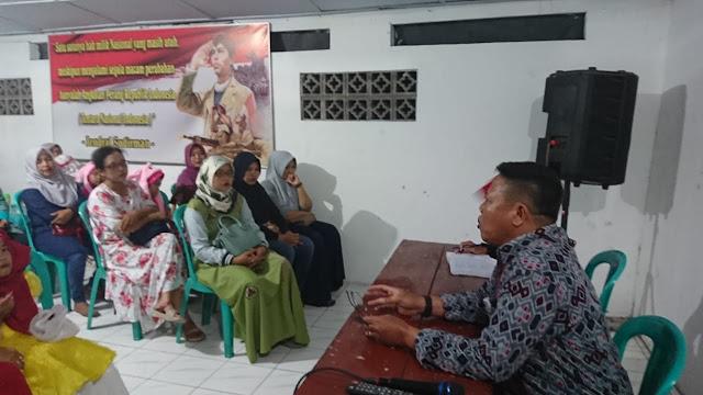 Danramil Kebonarum : TNI Dan Persit Harus Bijak Menggunakan Media Sosial