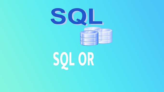 SQL OR