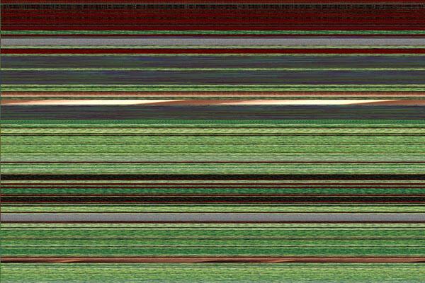 ظهور بقع وخطوط ملونة او سوداة بالشاشة
