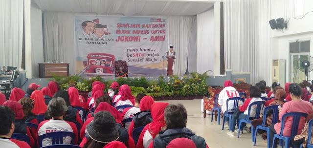 Alumni Sriwijaya Mudik Bareng Untuk Jokowi - Amin Singgah di Kayuagung