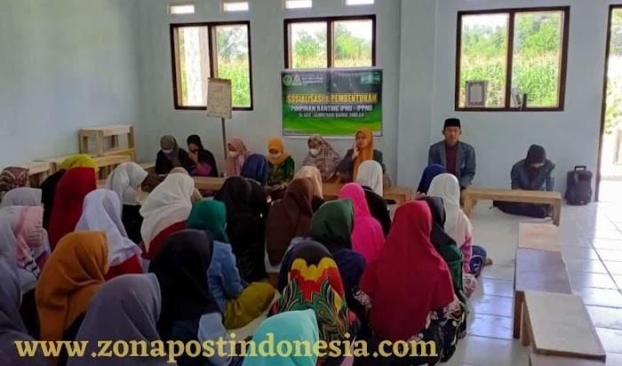 PAC IPNU-IPPNU Kecamatan Jambesari Darussholah Adakan Sosialisasi dan Pembentukan Komisariat Pondok Pesantren