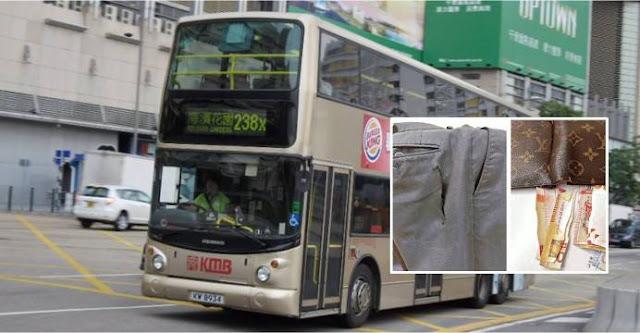 Waspada...! Naik Bus di Hong Kong Sekitaran Mong Kok, Copet Sudah Berkeliaran