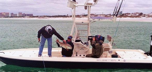 Destin Beach Fishing with Capt Pat Dineen