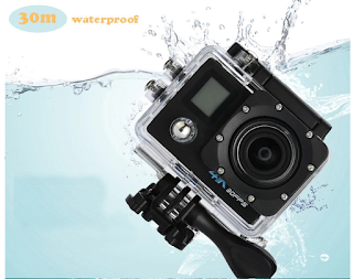 pro cam wifi doppio display action camera