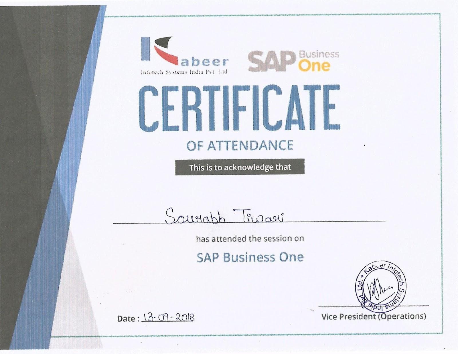 Welcome To Sourabh It Hub Sap Bi Certified
