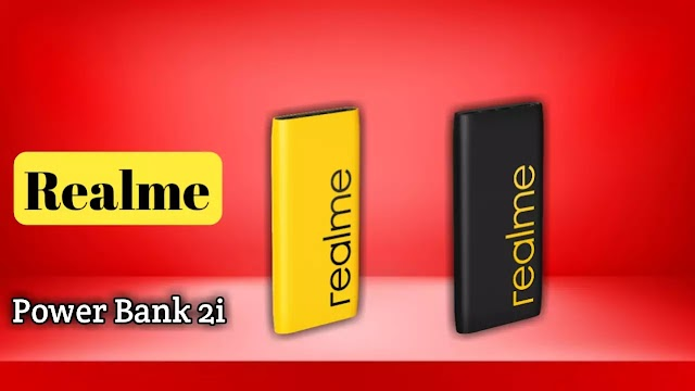 Realme 10000mAh Power Bank 2i launched for sale in India on 6 November.