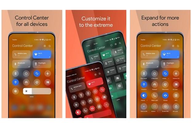 Mi Control Center - Φέρτε το φανταστικό control center του iOS σε Android συσκευές