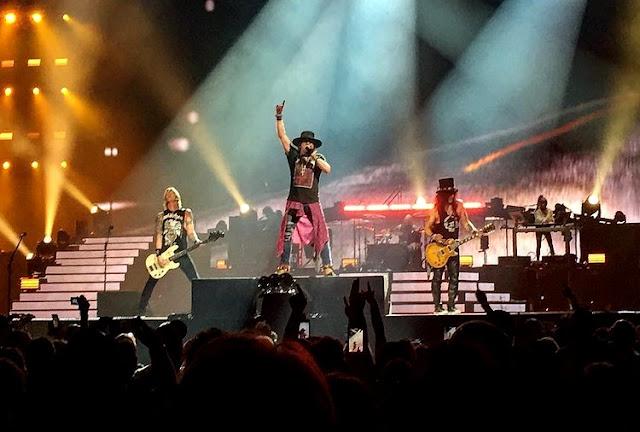 Guns N' Roses - T-Mobile Arena, Las Vegas, Nevada 17/11/2017