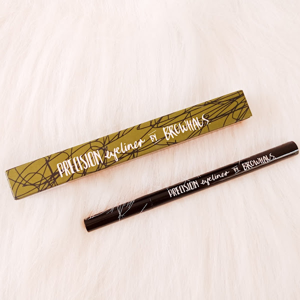 Browhaus Precision Eyeliner in Deep Brown - Review