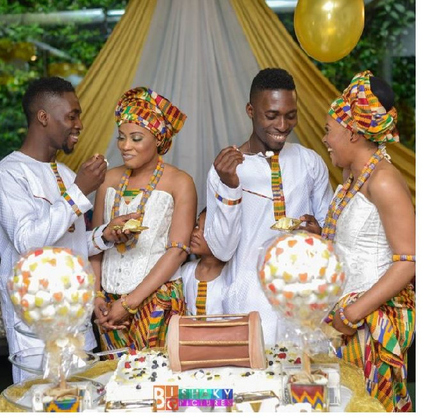 Twin brothers married twin sisters on the same day