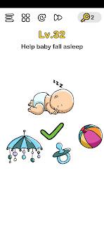 Bujuk Bayinya Agar Tidur Brain Out : bujuk, bayinya, tidur, brain, Kunci, Jawaban, Brain, Level, Bujuk, Tidur, Gudang