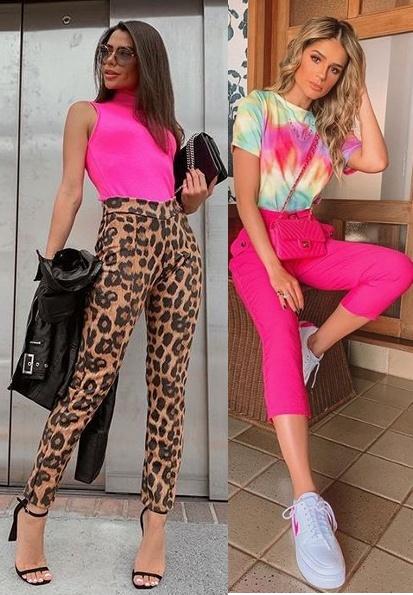 Guia: Como usar Looks Coloridos 2019, Thais Cadorin, Thássia Naves