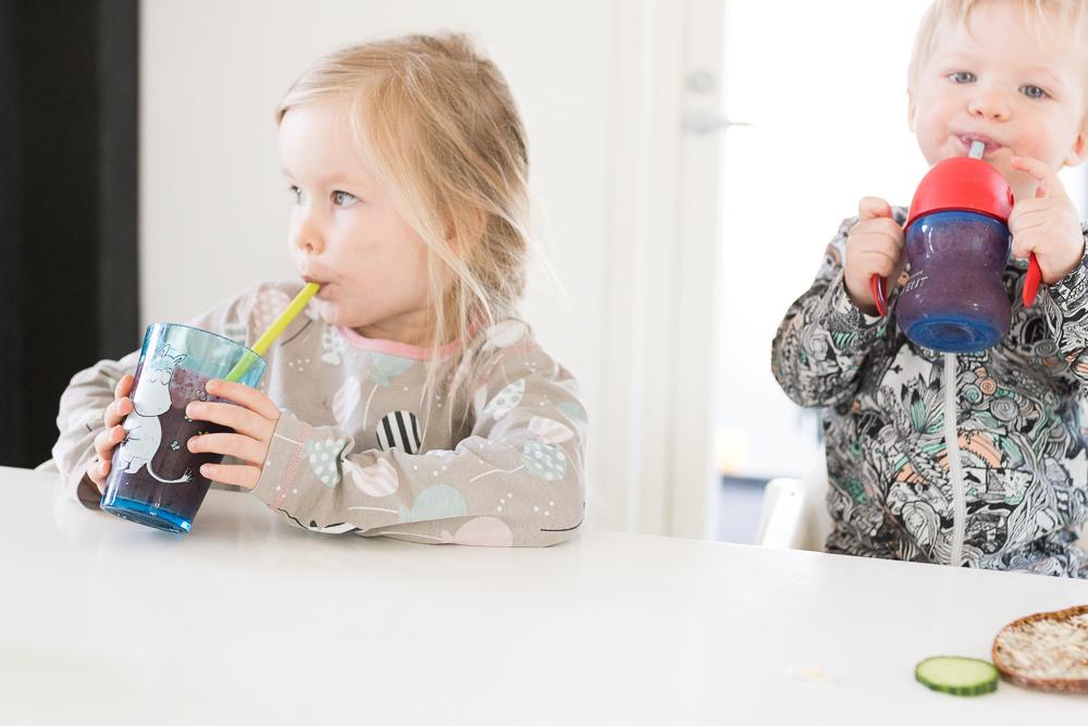 smoothie reseptejä aamiainen lapselle