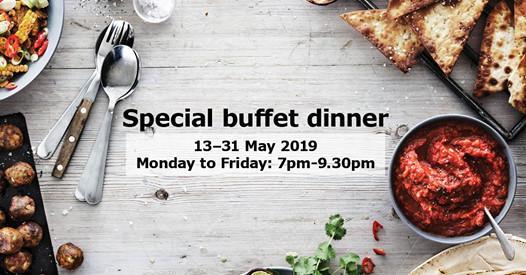 Wahhh Buffet Istimewa Ramadan IKEA Hanya RM45 Sahaja!