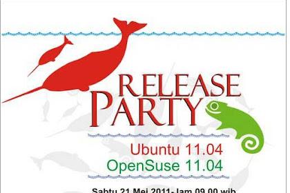 Release Party Ubuntu 11.04 dan OpenSuse 11.04 di kota Solo